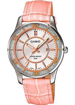 Японские наручные  женские часы Casio LTP-1358L-4A. Коллекция Analog
