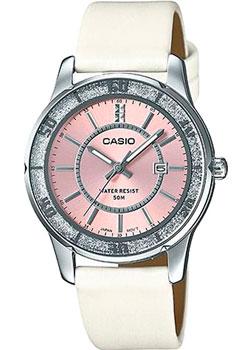 Японские наручные  женские часы Casio LTP-1358SL-4A. Коллекция Analog