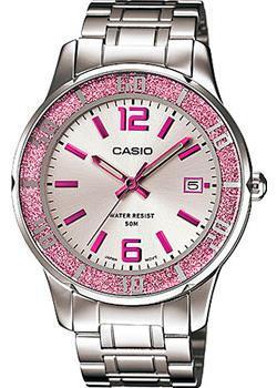 Японские наручные  женские часы Casio LTP-1359D-4A. Коллекция Analog