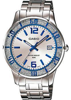 Японские наручные  женские часы Casio LTP-1359D-7A. Коллекция Analog