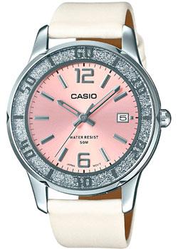 Японские наручные  женские часы Casio LTP-1359SL-4A. Коллекция Analog
