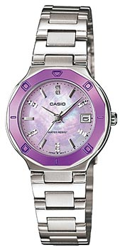 Японские наручные  женские часы Casio LTP-1366D-6A. Коллекция Standard Analog