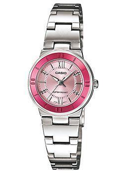 Японские наручные  женские часы Casio LTP-1368D-4A. Коллекция Analog