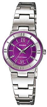 Японские наручные  женские часы Casio LTP-1368D-6A. Коллекция Standard Analog