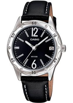 Японские наручные  женские часы Casio LTP-1389L-1B. Коллекция Analog
