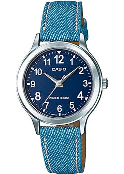 Японские наручные  женские часы Casio LTP-1390LB-2B. Коллекция Analog