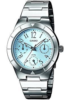 Японские наручные  женские часы Casio LTP-2069D-2A2. Коллекция Analog
