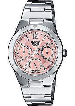 Японские наручные  женские часы Casio LTP-2069D-4A. Коллекция Analog