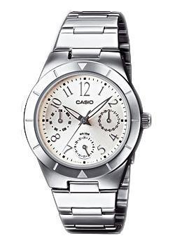 Японские наручные  женские часы Casio LTP-2069D-7A2. Коллекция Analog