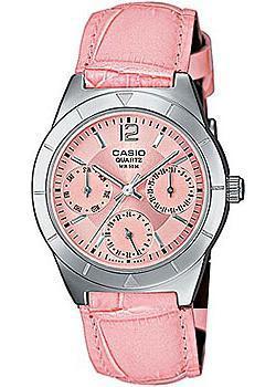 Японские наручные  женские часы Casio LTP-2069L-4A. Коллекция Analog