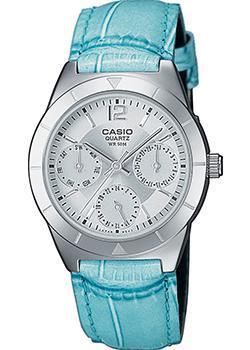 Японские наручные  женские часы Casio LTP-2069L-7A2. Коллекция Metal Fashion