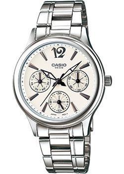 Японские наручные  женские часы Casio LTP-2085D-7A. Коллекция Analog