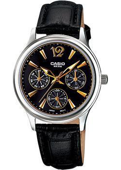 Японские наручные  женские часы Casio LTP-2085L-1A. Коллекция Analog