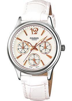 Японские наручные  женские часы Casio LTP-2085L-7A. Коллекция Analog