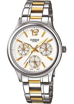 Японские наручные  женские часы Casio LTP-2085SG-7A. Коллекция Analog