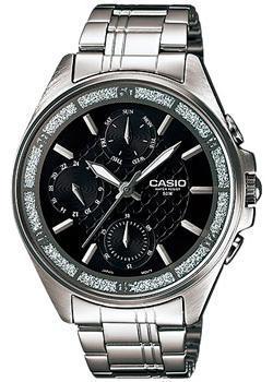 Японские наручные  женские часы Casio LTP-2086D-1A. Коллекция Analog