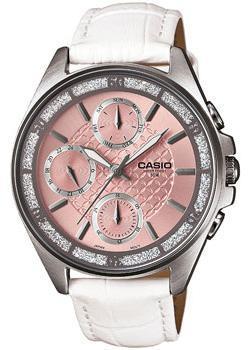 Японские наручные  женские часы Casio LTP-2086L-7A. Коллекция Analog