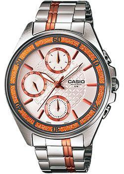 Японские наручные  женские часы Casio LTP-2086RG-7A. Коллекция Analog