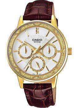 Японские наручные  женские часы Casio LTP-2087GL-5A. Коллекция Analog