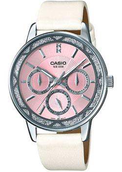 Японские наручные  женские часы Casio LTP-2087SL-4A. Коллекция Analog