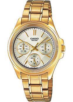 Японские наручные  женские часы Casio LTP-2088G-9A. Коллекция Analog