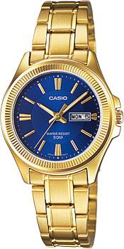 Японские наручные  женские часы Casio LTP-E111GB-2A. Коллекция Standard Analog от Bestwatch.ru