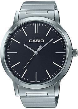 Японские наручные  женские часы Casio LTP-E118D-1A. Коллекция Analog