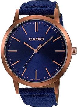 Японские наручные  женские часы Casio LTP-E118RL-2A. Коллекция Analog