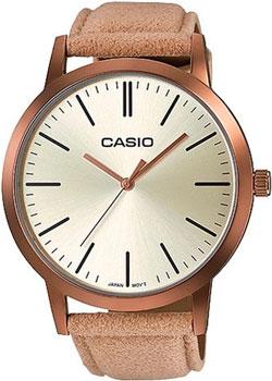Японские наручные  женские часы Casio LTP-E118RL-9A. Коллекция Analog
