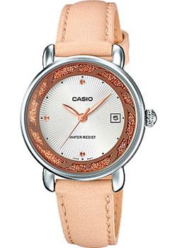 Японские наручные  женские часы Casio LTP-E120L-7A1. Коллекция Analog