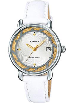 Японские наручные  женские часы Casio LTP-E120L-7A2. Коллекция Analog