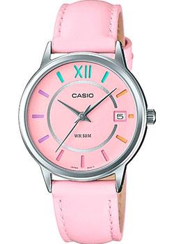 Японские наручные  женские часы Casio LTP-E134L-4B. Коллекция Analog