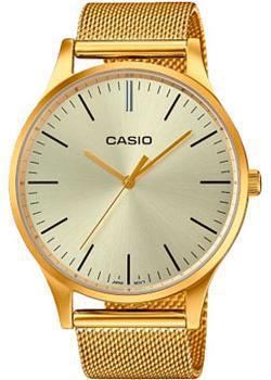 Японские наручные  женские часы Casio LTP-E140G-9A. Коллекция Analog