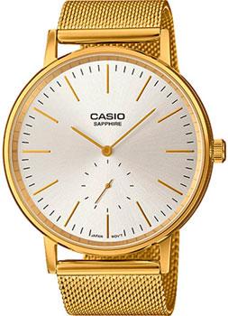 Японские наручные  женские часы Casio LTP-E148MG-7A. Коллекция Analog