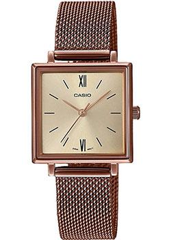 Японские наручные  женские часы Casio LTP-E155MR-9BEF. Коллекция Analog