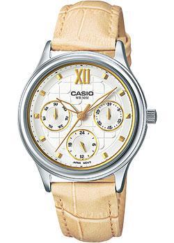 Японские наручные  женские часы Casio LTP-E306L-7A. Коллекция Analog