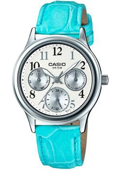 Японские наручные  женские часы Casio LTP-E306L-7B. Коллекция Analog
