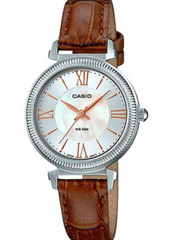 Японские наручные  женские часы Casio LTP-E409L-7A. Коллекция Analog
