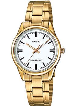 Японские наручные  женские часы Casio LTP-V005G-7A. Коллекция Analog