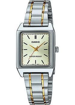 Японские наручные  женские часы Casio LTP-V007SG-9E. Коллекция Analog