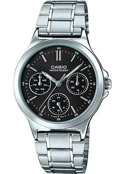 Японские наручные  женские часы Casio LTP-V300D-1A. Коллекция Analog