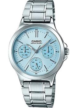 Японские наручные  женские часы Casio LTP-V300D-2A. Коллекция Analog