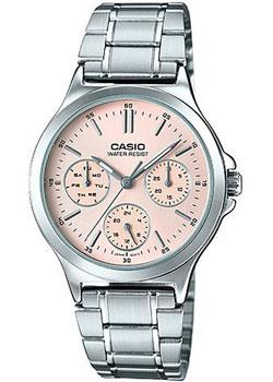 Японские наручные  женские часы Casio LTP-V300D-4A. Коллекция Analog