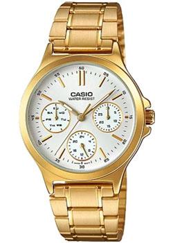 Японские наручные  женские часы Casio LTP-V300G-7A. Коллекция Analog