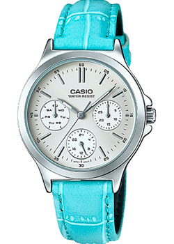 Японские наручные  женские часы Casio LTP-V300L-2A. Коллекция Analog