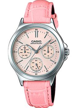 Японские наручные  женские часы Casio LTP-V300L-4A. Коллекция Analog