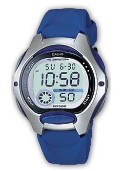 Японские наручные  женские часы Casio LW-200-2A. Коллекция Classic&digital timer