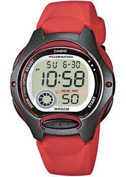 Японские наручные  женские часы Casio LW-200-4A. Коллекция Digital