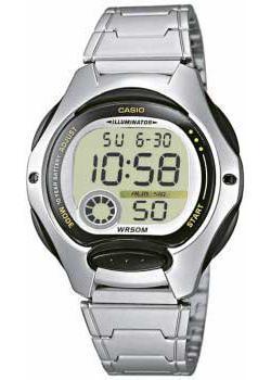 Японские наручные  женские часы Casio LW-200D-1A. Коллекция Digital