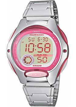 Японские наручные  женские часы Casio LW-200D-4A. Коллекция Classic&digital timer